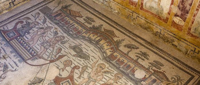 Area archeologica a Piazza Armerina Villa Romana del Casale6
